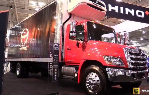 358载货车Hino卡车