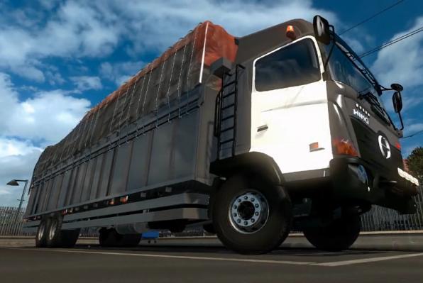 日野500载货车
