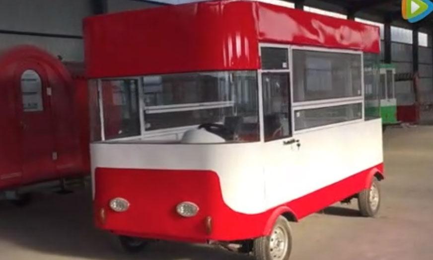 颐和园早餐车 颐和园流动售货车