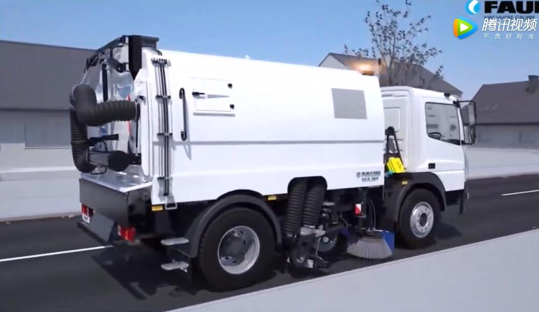 工作原理:扫路车是如何工作的?