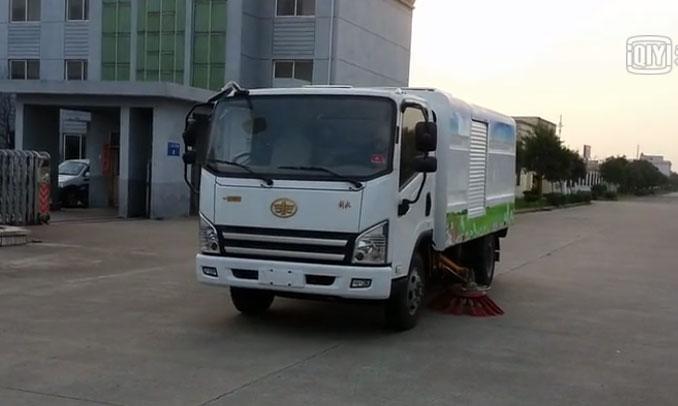 3吨型新能源纯电动扫路车清扫车