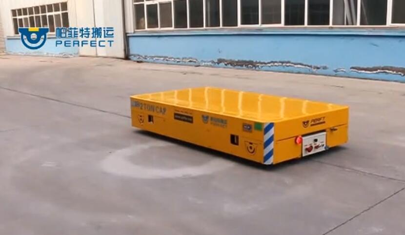 无轨运输车帕菲特制造自由转弯电动平板车