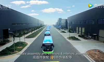 看看中国宇通客车的郑州工厂,如何制造一辆大客车