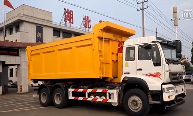 28方多功能垃圾箱25吨28吨重汽勾臂垃圾车厂