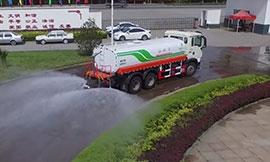 重汽豪沃T5G灑水車